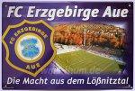 """Blechschild """"FC Erzgebirge Aue - Stadion"""""""