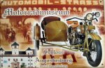 """Blechschild """"Augustusburg Motorradmuseum"""""""