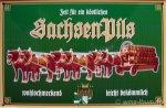 "Blechschild ""SachsenPils - Original Nr. 2 Pferde"""