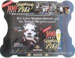 """Blechschild """"Teutsch Pils - Marlene Dietrich"""""""