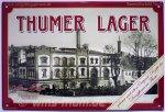 """Blechschild """"Thumer Lager - Dampfbrauerei Thum Nr. 2"""""""