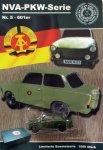 DDR-Pkw-Modell NVA-Serie Nr. 5 Trabant 601