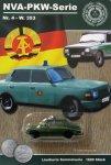 DDR-Pkw-Modell NVA-Serie Nr. 4 Wartburg 353