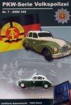 DDR-Pkw-Modell Volkspolizei-Serie Nr. 7 EMW
