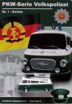 DDR-Modell Volkspolizei-Serie Nr. 1 Barkas/B1000