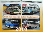 """Kalender """"Oldtimer-Busse im Osten Deutschlands 2010"""""""