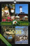 "Kalender ""Erlebnisland Erzgebirge 2008"""