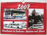 """Kalender """"Omnibusse in Sachsen - Gestern und Heute 2007"""""""