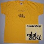 """T-Shirt mit Aufdruck """"Minizicke"""""""