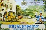 "Blechschild ""EKU - Kulmbacher Brauerei - Gasthof zum Postillion"""