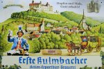 "Blechschild ""EKU - Kulmbacher Brauerei - Kulmbach um 1850"""