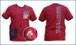 ZMK - T-Shirt, rot - 40 Jahre ZMK (für Damen und Herren)