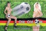 """Blechschild """"Go for Champion - Erotik"""""""