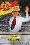 DDR-PKW-Modell Mauerserie Straßenwacht - Honecker
