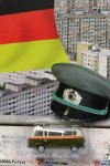 DDR-Modell Mauerserie Barkas/B1000 Polizei