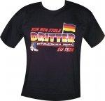 """T-Shirt mit Aufdruck """"Ich bin stolz Dritter zu sein"""" WM 2010 in Südafrika"""