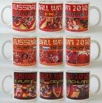 3 Siegertassen zur Fußball WM 2010 - 3er Set