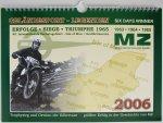 """Kalender """"Geländesport-Legenden MZ 2006 - Six Days Winner"""""""
