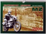 "Kalender ""Geländesport-Legenden MZ 2005 - Six Days Winner"""