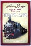 """Blechschild """"Thumer Lager - Schmalspurnetz Nr. 1"""""""