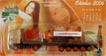 Minitruck SachsenPils - Erotik Kalendertruck - Oktober 2006