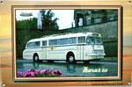 "Blechschild Bus ""Ikarus 66"""