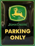 """Blechschild """"Parking Only"""""""