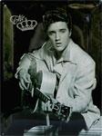"Blechschild ""Elvis"""