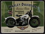"Blechschild - Harley Davidson ""American Classic - Knucklehead 1936"""