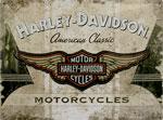 "Blechschild - Harley Davidson ""American Classic Logo"""