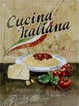 "Blechschild ""Cuciana Italiana"""