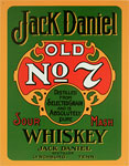 "Blechschild ""Jack Daniel`s - Old No. 7 - Whiskey"""