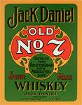 "Blechschild ""Jack Daniel`s - Old No. 7 - Whiskey"""