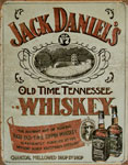 "Blechschild ""Jack Daniel`s Sippin Made in U.S.A."""
