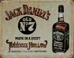 """Blechschild - """"Jack Daniel`s - Tennessee Hollow"""""""