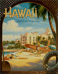 """Blechschild """"Hawaii"""""""