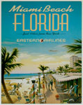 "Blechschild ""Miami Beach - Florida"""