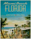 "Blechschild ""Miami Beach - Florida"""
