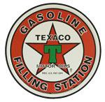"Blechschild ""Gasoline - Texano"""