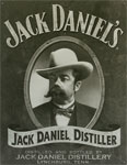 """Blechschild """"Jack Daniels - Distiller"""""""