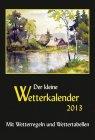 Der kleine Wetterkalender 2013