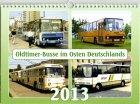 """Kalender """"Oldtimer-Busse im Osten Deutschlands 2013"""""""