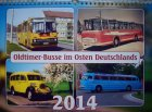 """Kalender """"Oldtimer-Busse im Osten Deutschlands 2014"""""""