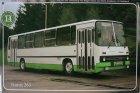 """Busblechschild Bus """"Ikarus 263"""""""