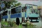 """Busblechschild Bus """"Ikarus 266"""""""