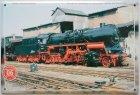 """Blechschild """"Historische Dampflokomotiven Nr. 06"""""""