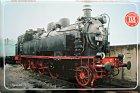 """Blechschild """"Historische Dampflokomotiven Nr. 08"""""""