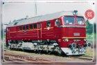 """Blechschild """"Historische Diesellokomotiven Nr. 01"""""""