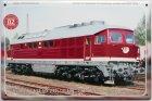 """Blechschild """"Historische Diesellokomotiven Nr. 02"""""""