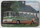 "Mousepad bedruckt - Oldtimer-Bus ""Fleischer S5 Döhler"""